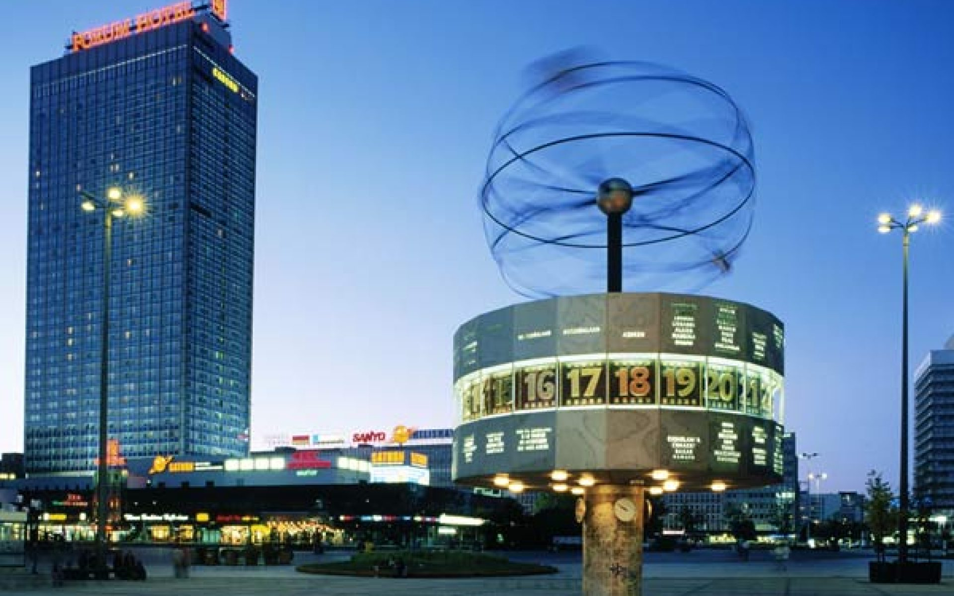Alexanderplatz World Time Clock