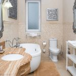 Bathroom in One-Bedroom Apartment Type A