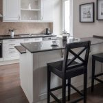 Kitchen in One-Bedroom Apartment Type A