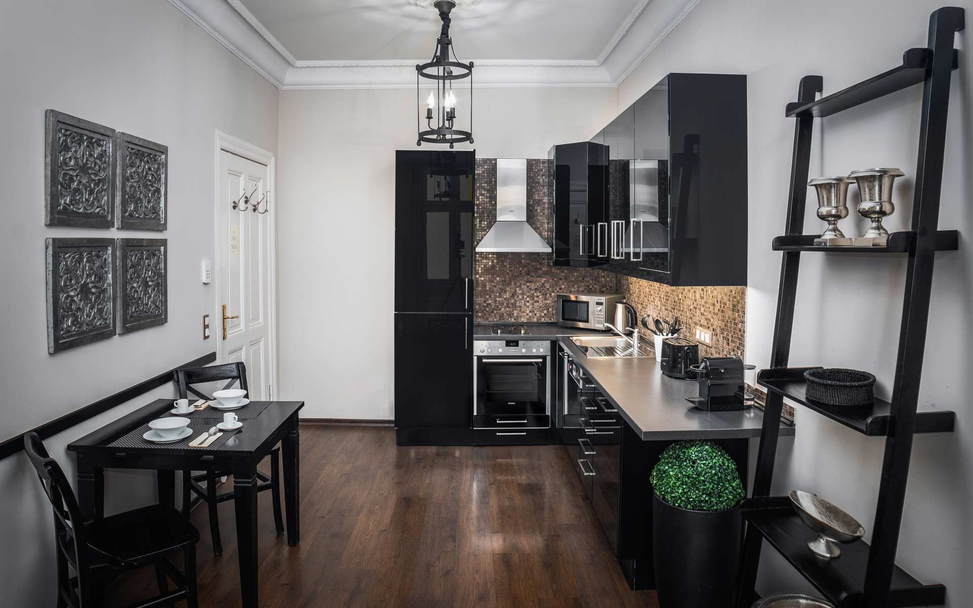 Kitchen in One-Bedroom Apartment Type B